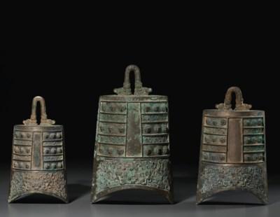 THREE BRONZE BELLS, ZHONG