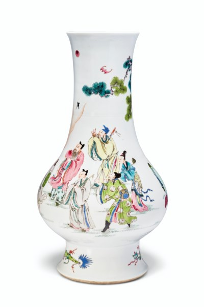 A SUPERBLY ENAMELED FAMILLE RO