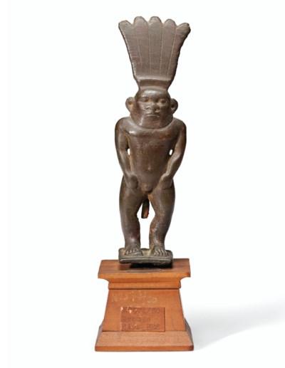 AN EGYPTIAN BRONZE BES