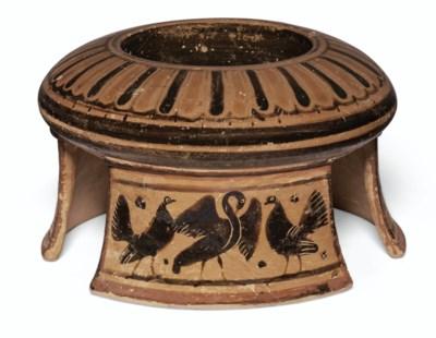 A BOEOTIAN BLACK-FIGURED TRIPO