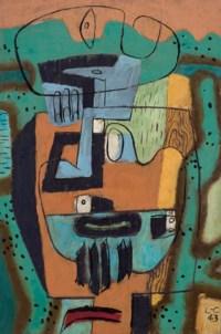 Composition pour sculpture Totem