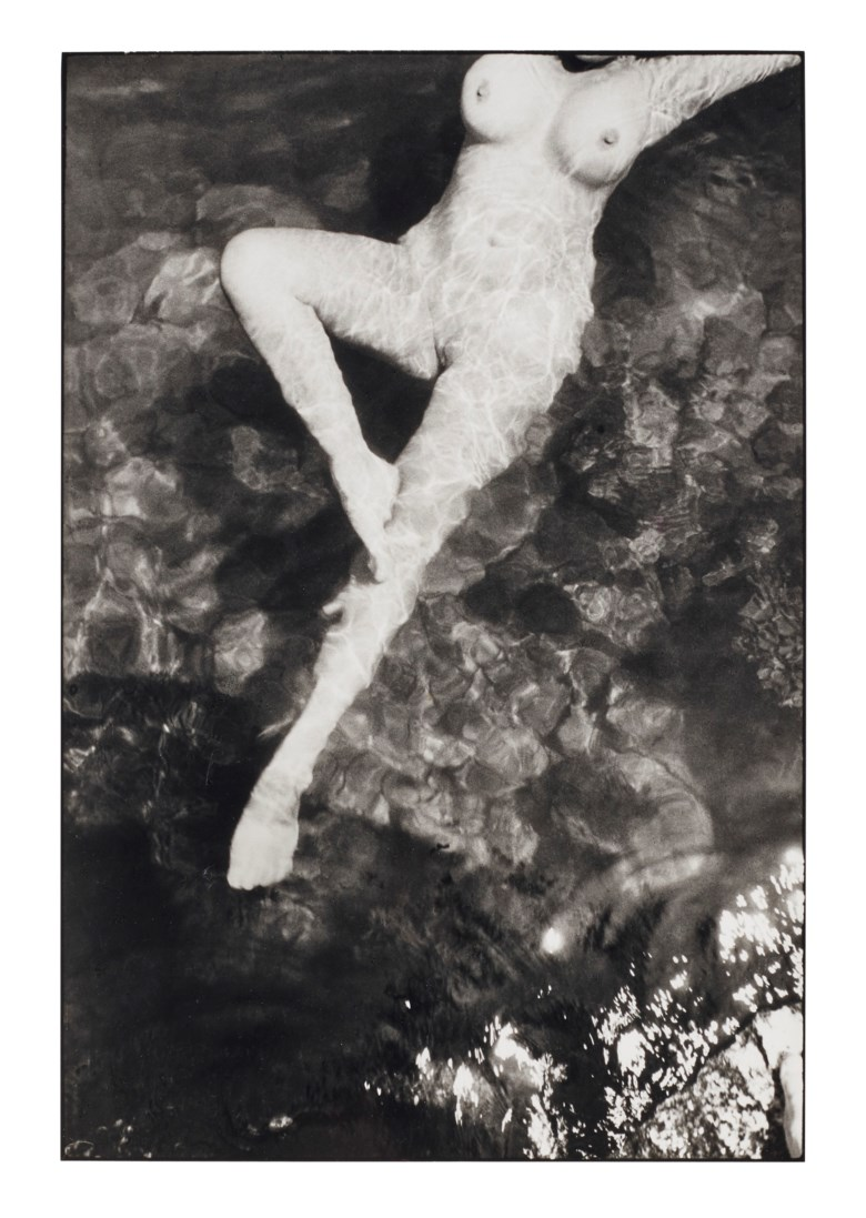 Henri Cartier–Bresson (1908–2004), Leonor Fini, Italy, 1933. Gelatin silver print, printed later. Sheet 16 x 11⅞ in (40.6 x 30.2 cm). Estimate $8,000-12,000. Offered in  Photographs, 21-30 September 2020, Online