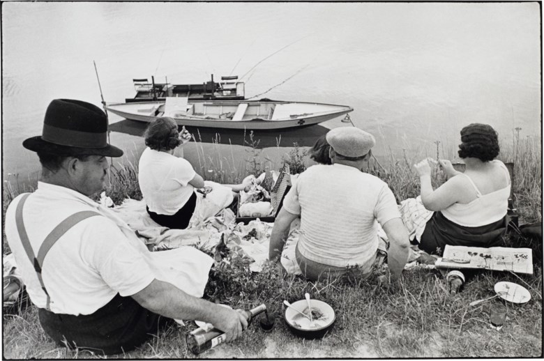 Henri Cartier–Bresson (1908–2004), On the Banks of the Marne, 1938. Gelatin silver print, printed later. Sheet 12 x 16 in (30.4 x 40.6 cm). Estimate $6,000-8,000. Offered in  Photographs, 21-30 September 2020, Online