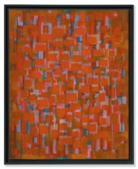 Red Painting, 1950