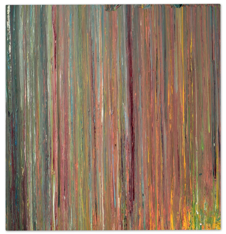 Larry Poons (b. 1937), Untitled PII, 1974. 90¾ x 86⅛ in (230.5 x 218.8 cm). Sold for $175,000 inFirst Open  Online, December 2020