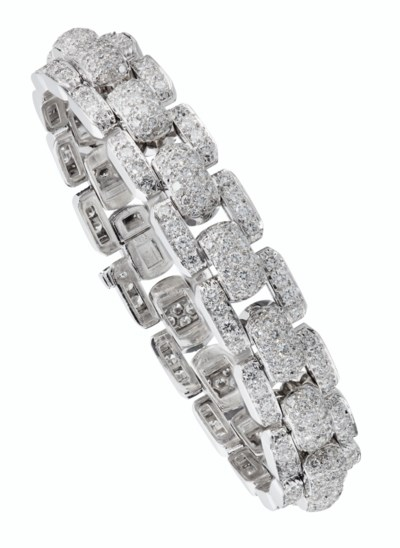 DIAMOND BRACELET, CARTIER