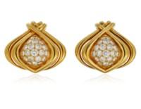RENÉ BOIVIN DIAMOND EARRINGS