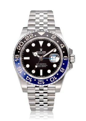 ROLEX, NEW AND UNWORN GMT-MASTER II 'BATGIRL', REF. 126710BL