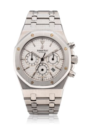 AUDEMARS PIGUET, ROYAL OAK, CHRONOGRAPH, REF. 25860ST, NO. 5263