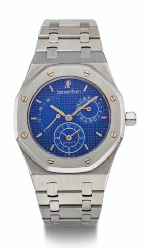 AUDEMARS PIGUET, STEEL, ROYAL OAK, DUAL TIME, REF Ref 25730S
