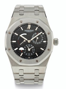 AUDEMARS PIGUET, STEEL, ROYAL OAK, DUAL-TIME, REF, 26120, NO