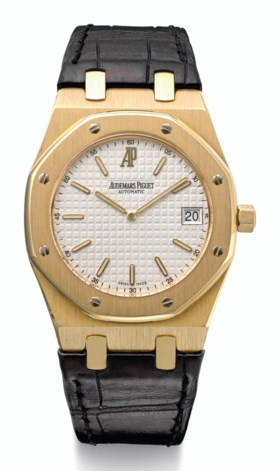 AUDEMARS PIGUET, 18K GOLD, EXTRA-THIN