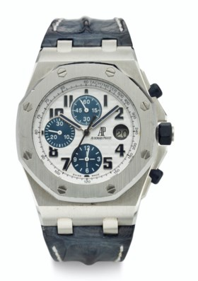 AUDEMARS PIGUET, STEEL, CHRONOGRAPH, ROYAL OAK OFFSHORE, REF
