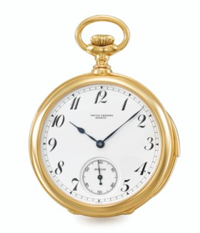 PATEK PHILIPPE, POSSIBLY UNIQUE, 18K GOLD, MINUTE REPEATING