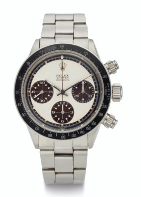 ROLEX STEEL, CHRONOGRAPH, TROPICAL