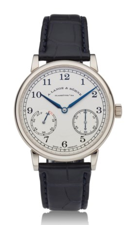 A LANGE & SÖHNE, 1815 UP/DOWN, 18K WHITE GOLD, REF 234026