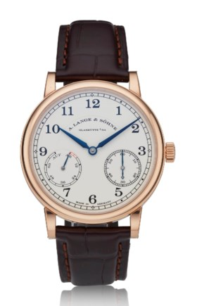 A LANGE & SÖHNE, 1815 UP/DOWN, 18K PINK GOLD, REF 234032