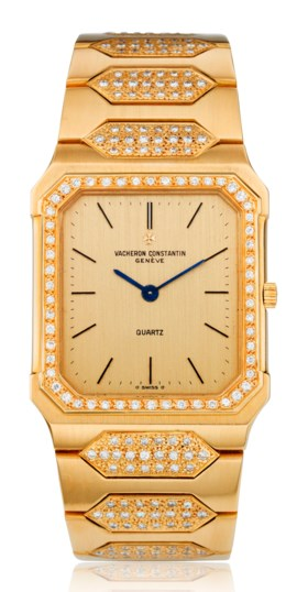 VACHERON CONSTANTIN, 18K GOLD & DIAMONDS, REF 70003/411