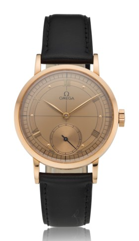 OMEGA 18K PINK GOLD LIMITED EDITION WRISTWATCH, NO 554/1894