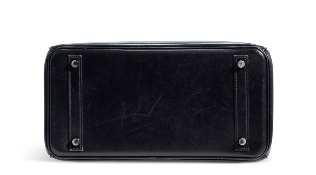 A RARE, LIMITED EDITION BLACK CALFBOX LEATHER SO BLACK BIRKIN 30 WITH BLACK PVD HARDWARE