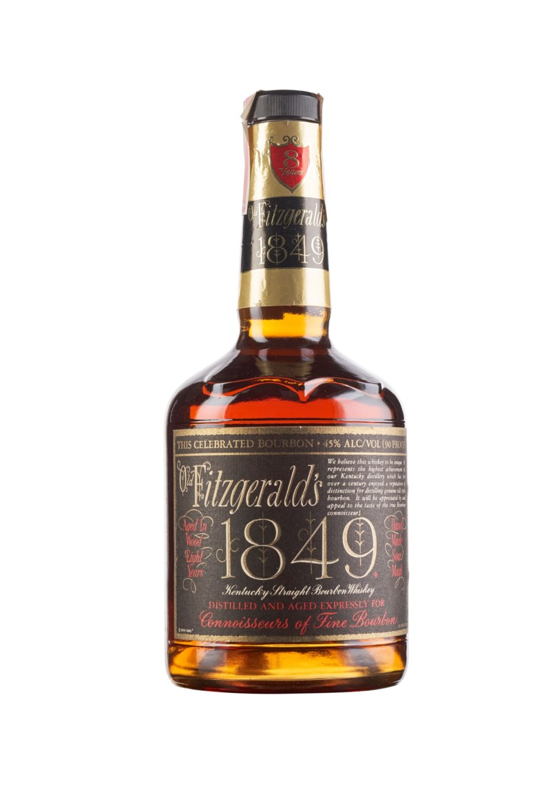 Old Fitzgeralds 1849 8 Year Old, Kentucky. Good appearance, filled April 22, 1992. In original carton. Estimate $4,500-6,500. Offered in Wine & Spirits, 17 September to 1 October 2020, Online