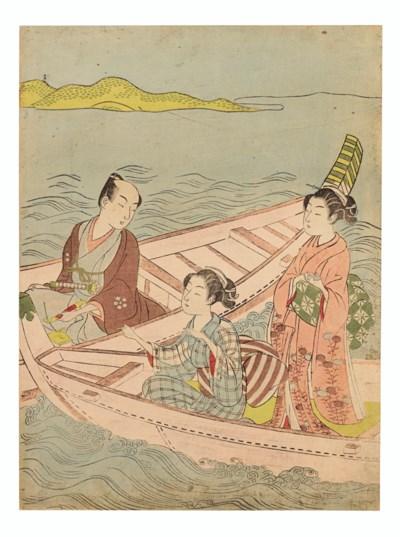 SUZUKI HARUNOBU (1725-1770)