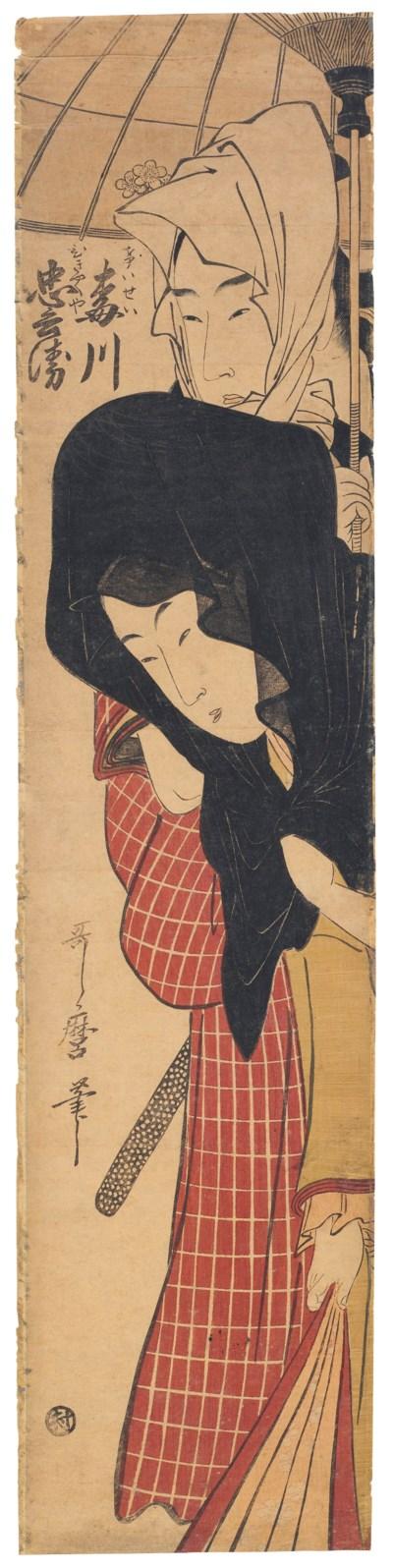 KITAGAWA UTAMARO (1754–1806)