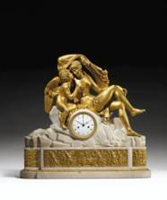 A LATE LOUIS XVI ORMOLU AND WH