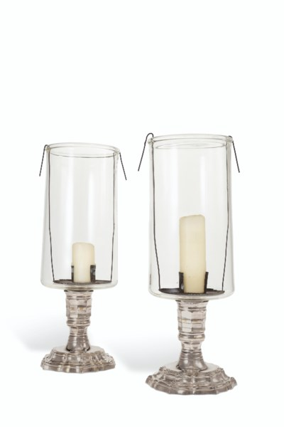A PAIR OF REGENCE STYLE SILVER