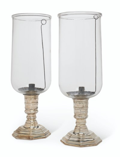A MATCHED PAIR OF REGENCE SILV