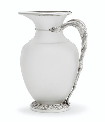 A VICTORIAN SILVER-MOUNTED FRO