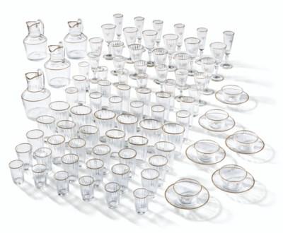 AN EXTENSIVE VENETIAN GLASS GI