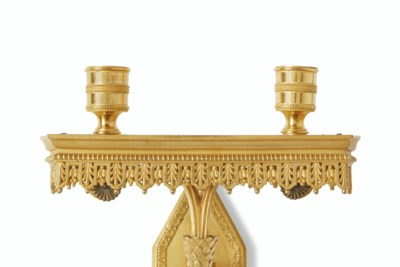A PAIR OF DIRECTOIRE ORMOLU TW