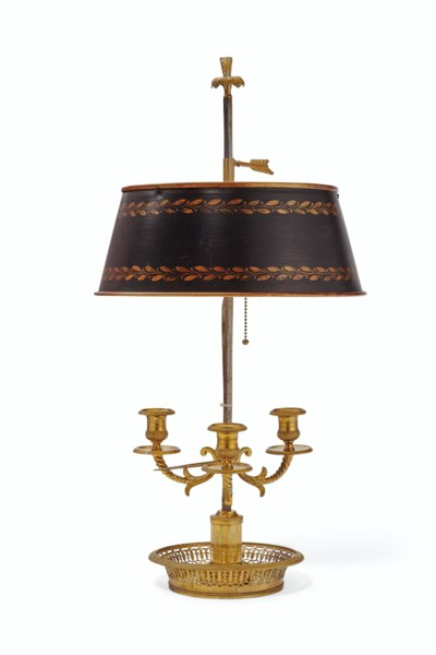 A DIRECTOIRE ORMOLU AND TOLE P