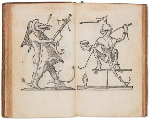 Rabelasian monster book