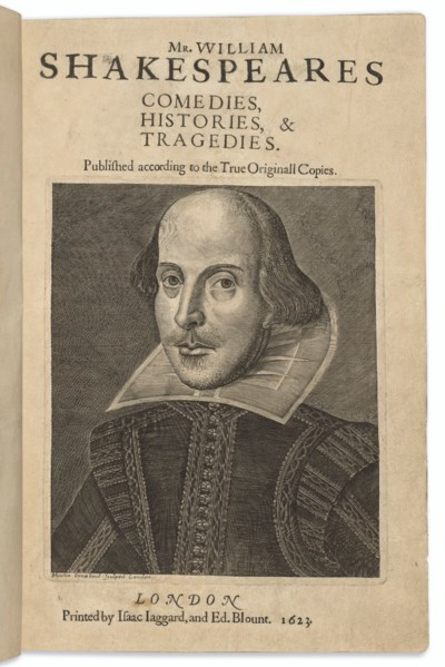 SHAKESPEARE, William (1564-161
