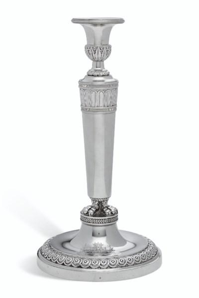 A SET OF SIX LOUIS XVI SILVER