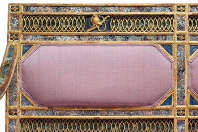 A SOUTH ITALIAN GILTWOOD, GILT