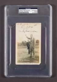 Scarce 1922 Christy Mathewson