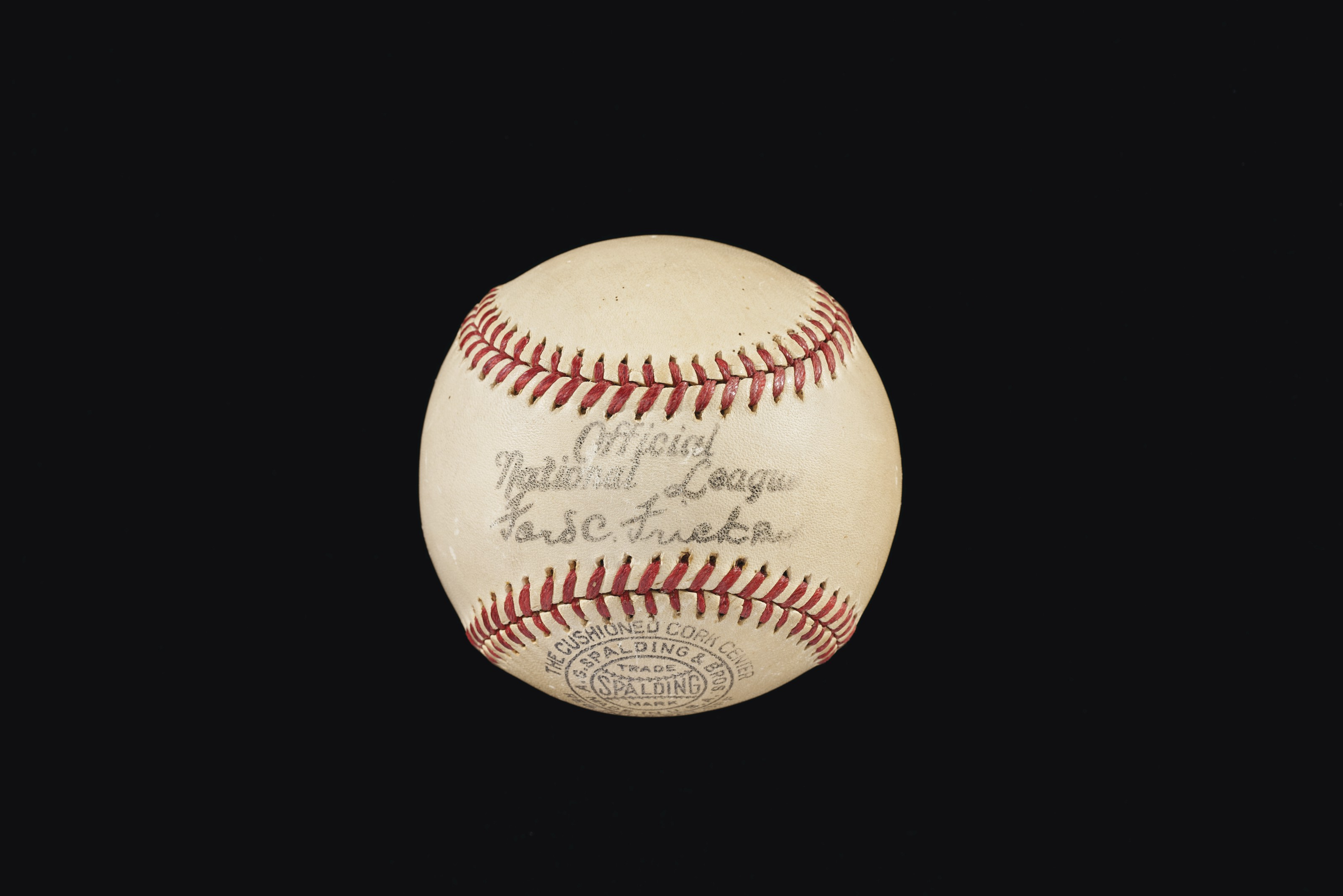 Rare G.C. Alexander Single Signed Ball (PSA/DNA 8 NM-MT)