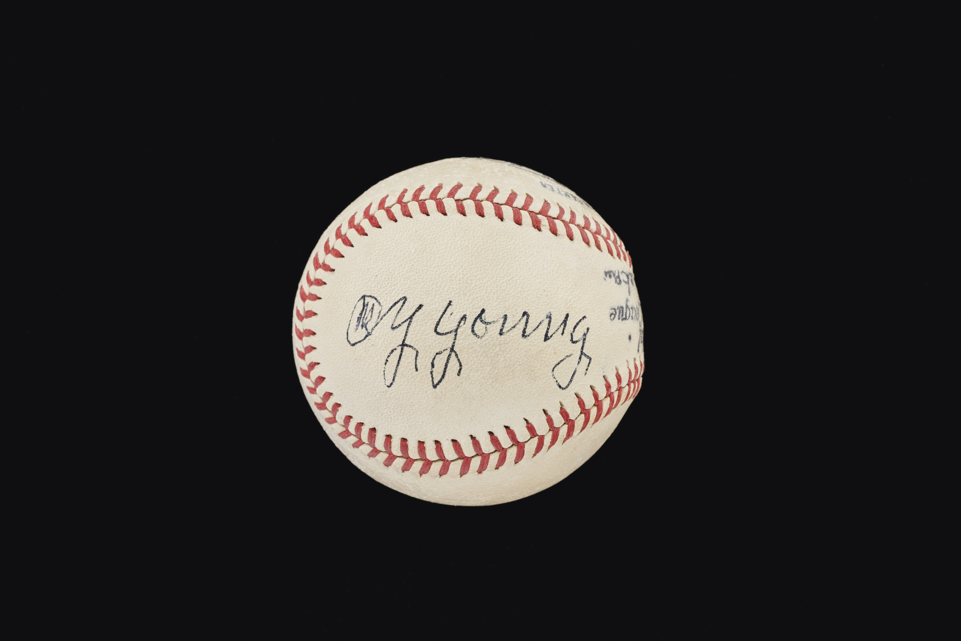 Extraordinary Cy Young Single Signed Baseball (PSA/DNA 7 NM)