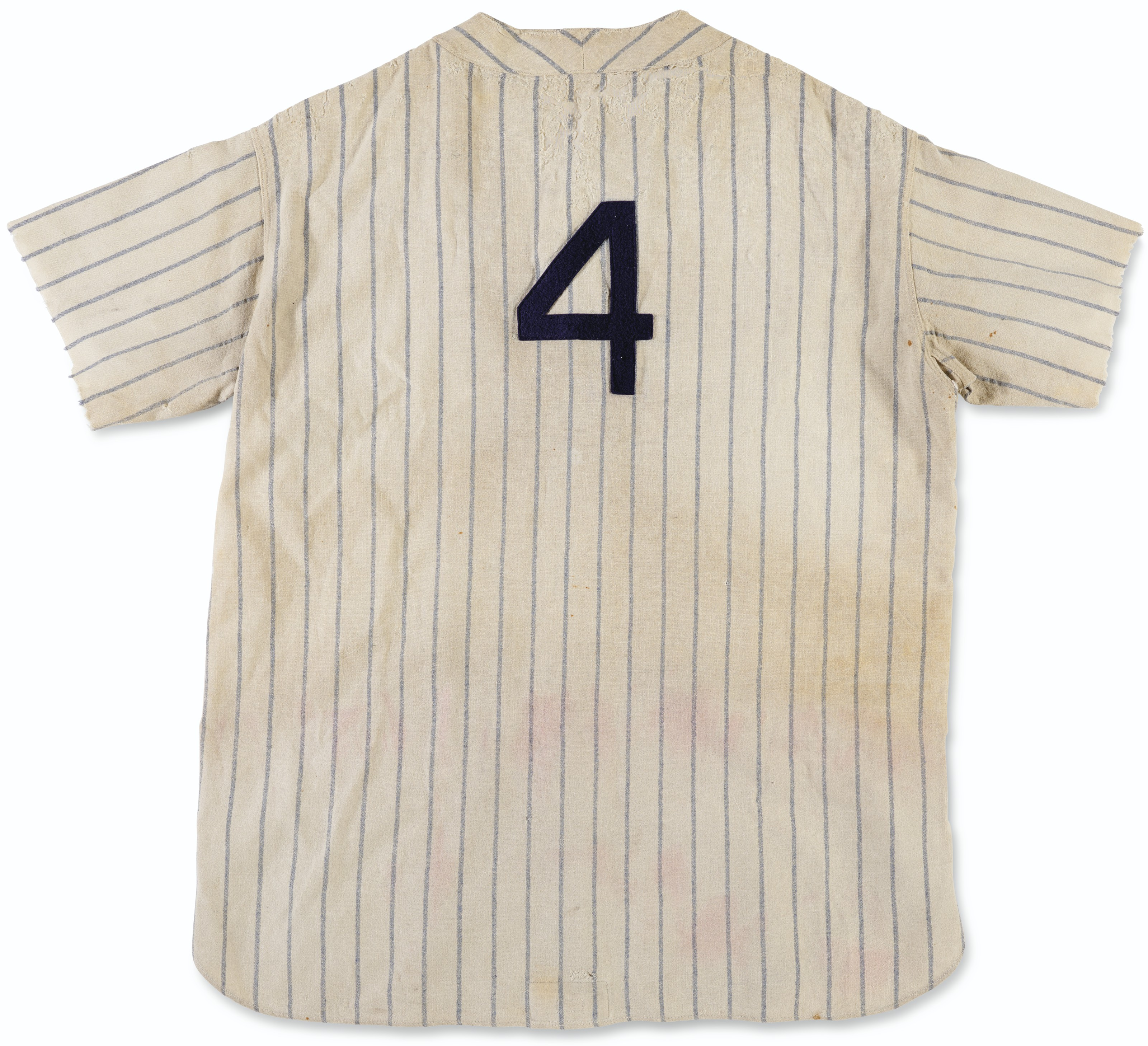 Important 1931 Lou Gehrig New York Yankees Professional Model Home Jersey
