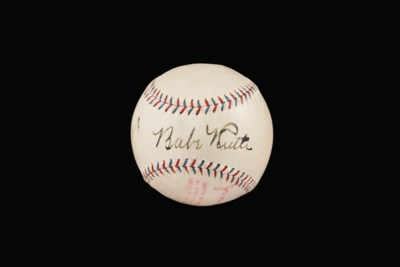 Babe Ruth and Lou Gehrig Autog