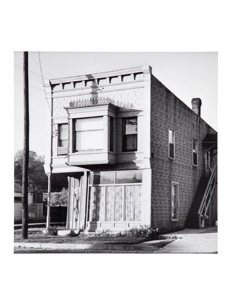 Walker Evans (1903-1975), Railroad Depot, October 1963. Gelatin silver print, printed 1969-1970 by James Dow. Sheet 14 x 11 in (35.7 x 28 cm). Estimate $5,000-7,000. Offered in  Walker Evans An American Master, 21-29 April 2020, Online