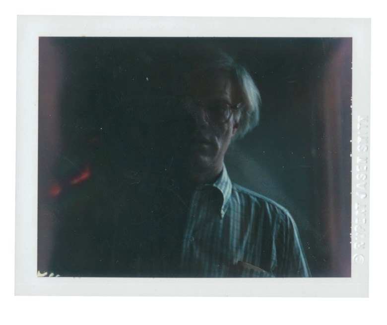 Andy Warhol (1928-1987), Self-Portrait, 1978. Unique polaroid print. 3⅜ x 4¼ in (8.6 x 10.8 cm). Estimate $15,000-20,000. Offered in Andy Warhol Better Days, 28 April to 6 May 2020, Online. Artwork © 2020 The Andy Warhol Foundation for the Visual Arts, Inc.
