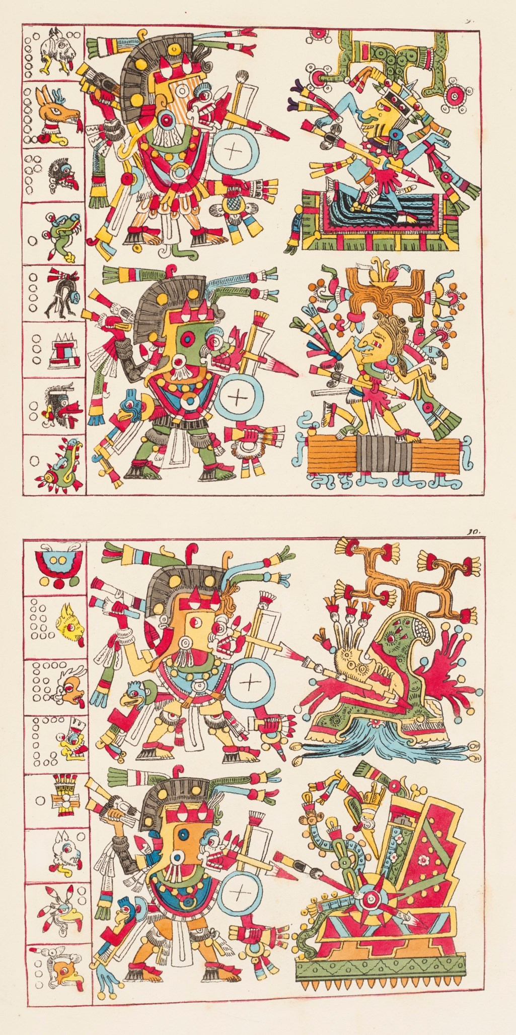 Colored Issue of Antiquities of Mexico