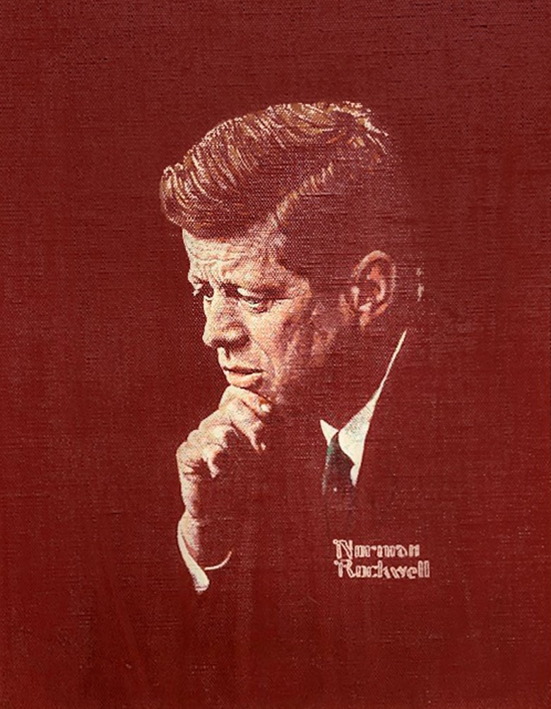 Norman Rockwell (1894-1978), Portrait of John F. Kennedy, 1963. Oil on canvas. 22 x 18 in. Available for immediate purchase. Offered in Art of the Cover in Private Sales at Christie's