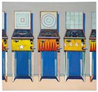 Four Pinball Machines