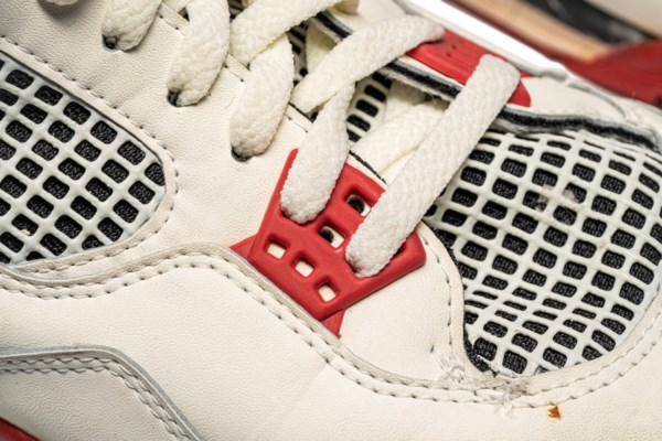 "Air Jordan 4 ""Fire Red,"" Player Exclusive, Game-Worn Signed Sneaker"