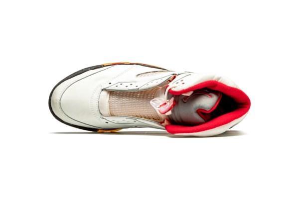 "Air Jordan 5 ""Fire Red,"" Player Exclusive Sneaker"